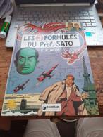 Les 3 Formules Du Professeur SATO EDGAR P JACOBS Dargaud 1977 - Blake Et Mortimer