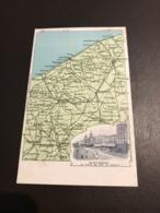 Blankenberge - Blankenberghe - Geographical Series N°600 John Walker Cie - Dietrich & Cie - Circulé 1907 - Blankenberge