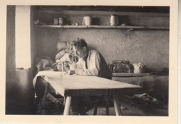 Tourtemagne - Personne à Son Bureau - 1946 - Photo 6.5 X 9.5 Cm - Photos
