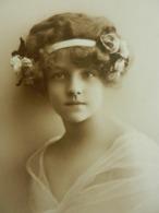 CPA  FILLETTE   Jolie   Grete Reinwald  Sépia - Portraits