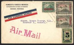 Nicaragua-Enveloppe Pour La Hongrie - Nicaragua