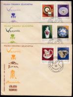 Poland 1981 / Polish China And Ceramics / Art - Vetri & Vetrate