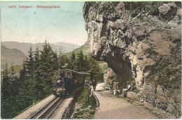 1020. Lungern - Schneidgütsch - OW Obwalden