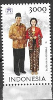 INDONESIA, 2019, MNH, ASEAN, JOINT ISSUE, COSTUMES, 1v - Costumes