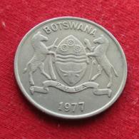 Botswana 25 Thebe 1977 KM# 6 *V2  Botsuana - Botswana