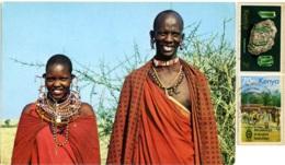 KENYA  KENIA  Masai Men And Woman  Nice Stamps - Africa