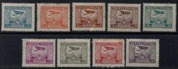 POLOGNE - POLSKA / 1925 POSTE AERIENNE # 1 A 9 * / COTE 43.00 EUROS (ref 2453a) - Airmail