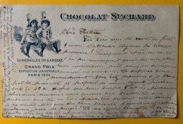 9221 - Chocolat Suchard Enfants Reconvillier 18.06.1907 Pour Payerne   !!! Déchirure Bord Inférieur - Entiers Postaux
