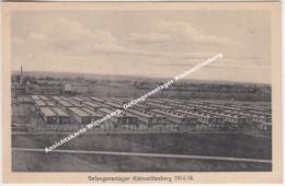 Ansichtskarte Wittenberg, Gefangenenlager Kleinwittenberg 1914 - 16 - Wittenberg