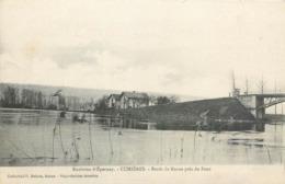 CPA 51 Marne Cumières Bords De Marne Près Du Pont - Environs D'Epernay - Francia