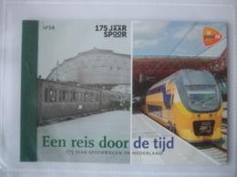 Prestigeboekje Dag  Nr 54 Spoorwegen In Nederland 2014  Trains - Booklets