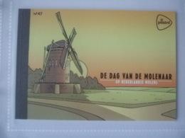 Prestigeboekje Dag  Nr 47 Molens, Windmill.  De Dag V.d. Molenaar - Booklets