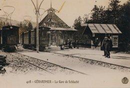 Géraedmer (88) La Gare De Schlucht - Estaciones Con Trenes