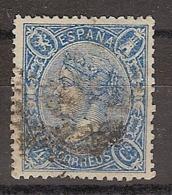España U 0075 (o) Isabel II. 1865 - 1850-68 Reino: Isabel II