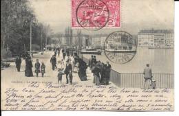 Suisse - Timbre Sur Carte 1900 - 1882-1906 Stemmi, Helvetia Verticalmente & UPU