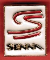 """Pins """"SENNA"""" In Metallo Smaltato - Formato Mm.17x21----(lotto 511E) - Motos"""