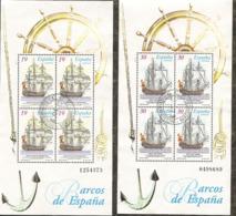 1995-ED. 3352 Y 3353 H.B.-BARCOS-USADO- - 1931-Hoy: 2ª República - ... Juan Carlos I