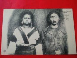LAOS ETHNOGRAPHIE JEUNES GENS MEOS BLANCS - Laos