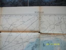 Topografische / Stafkaart Van Maerle (Hilvarenbeek - Berkel - Oisterwijk - Boxtel - Oirschot - Best - Moergestel) - Cartes Topographiques