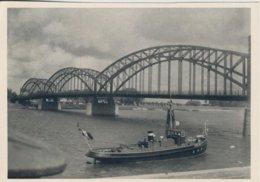 "Tilsit -- Königin Luisen Brücke Mit Dem Dampfer ""Helmut""  (58304) - Ostpreussen"