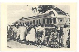 Senegal Dakar Autorail Micheline Station Railway Diesel Train Tram Eisenbahn Bahnhof Gare - Senegal
