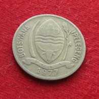 Botswana 10 Thebe 1977 KM# 5  Botsuana - Botswana