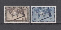 NATIONS  UNIES  NEW-YORK  1953      N° 17-18    NEUFS**   CATALOGUE YVERT&TELLIER - New-York - Siège De L'ONU