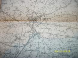 Topografische / Stafkaart Van Tielt (Wingene - Ruiselede - Lotenhulle - Meigem - Dentergem - Olsene - Ingelmunster) - Cartes Topographiques