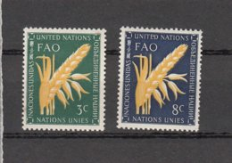 NATIONS  UNIES  NEW-YORK  1954      N° 23-24    NEUFS**   CATALOGUE YVERT&TELLIER - New-York - Siège De L'ONU