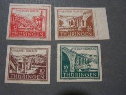 Deutsche Post Thüringen Satz  ** MNH - Soviet Zone