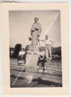 PHOTO LUXEMBOURG JULI 1950 ECHTERNACHERBRÜCK A. D. SAUER / DENKMAL BERTELS - Echternach
