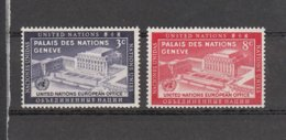 NATIONS  UNIES  NEW-YORK  1954      N° 25-26    NEUFS**   CATALOGUE YVERT&TELLIER - New-York - Siège De L'ONU