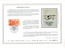 Document Artistique Philatélique Cérès N° 669 (YT PA N° 58): RARE !!! - Documents De La Poste