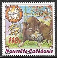 NOUVELLE  CALEDONIE    -   2007 .  Y&T N° 995 Oblitéré.  Année Lunaire Chinoise Du Cochon  /  Sanglier. - Nueva Caledonia
