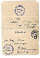 SPICH B. BONN STATION METEO DES DIRIGEABLES 1916 SIEGBURG FELDPOST ZEPPELIN DIRIGEABLE AVIATION /FREE SHIPPING R - Germania