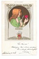 CPA FRITZ REHM MUNCHEN HEXEREI ART NOUVEAU - Illustrateurs & Photographes