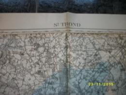 Topografische / Stafkaart Van Sint-Truiden (Geetbets - Rummen - Kortessem - Alken - Ulbeek - Gingelom - Kerkom) - Carte Topografiche