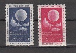 NATIONS  UNIES  NEW-YORK  1957      N° 48 à 55     NEUFS**   CATALOGUE YVERT&TELLIER - New-York - Siège De L'ONU