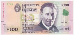 Uruguay P 95 - 100 Pesos 2015 - UNC - Uruguay