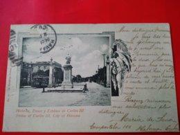 HABANA PASEO Y ESTATUA DE CARLOS III - Cuba