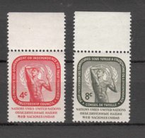 NATIONS  UNIES  NEW-YORK  1959      N° 70 à 73     NEUFS**   CATALOGUE YVERT&TELLIER - New-York - Siège De L'ONU