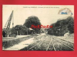 27 Eure FLEURY SUR ANDELLE La Gare Arrivée Du Train De Gisors - Sonstige Gemeinden