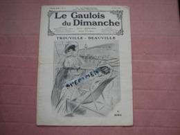 DEAUVILLE - TROUVILLE   Aout 1908  23 Pages Très Beaux Clichés  T.B.E. - Newspapers