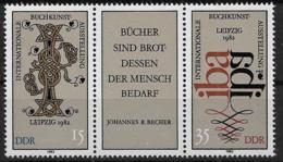DDR  2697-2698 ** Dreierstreifen - DDR