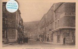 34 - Très Belle Carte Postale Ancienne De CLERMONT L'HERAULT  Boulevard Gambetta - Clermont L'Hérault