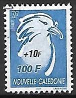 NOUVELLE  CALEDONIE    -   2005 .  Y&T N° 964 Oblitéré.  Surchargé.     Oiseau  /  Cagou - Nueva Caledonia