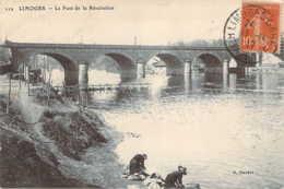 87 HAUTE VIENNE Lavandières Sous Le Pont De La Révolution à LIMOGES - Limoges