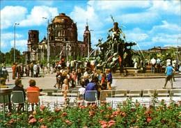 Ansichtskarte Mitte-Berlin Neptunbrunnen (Begasbrunnen) 1973 - Mitte