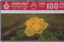 TAILANDIA. FLORES - FLOWERS. Rose 3/4. 11/1993. T 079. (095) - Flores