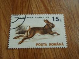 Timbre Posta Romana Roumanie Lièvre 1993 - 1948-.... Repúblicas